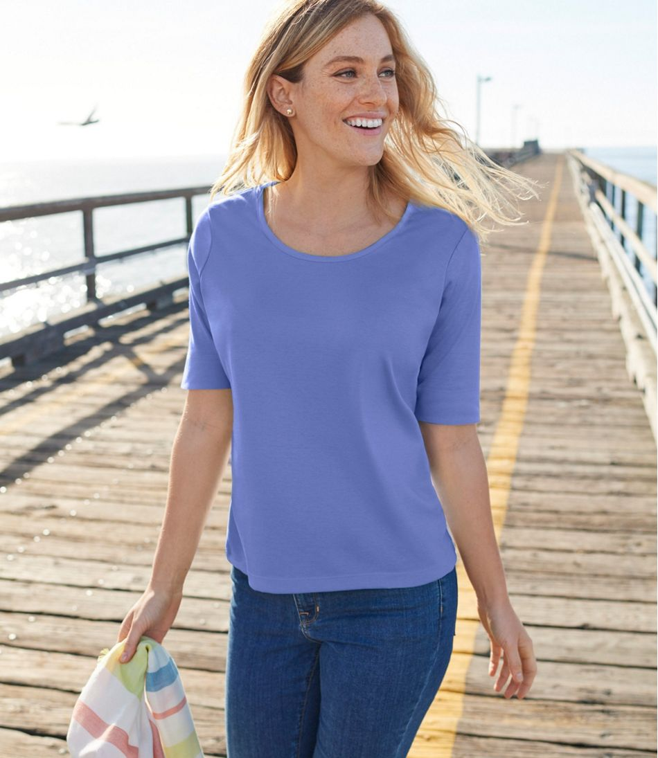 682f055a5cdbbd Ladies T Shirts Elbow Length Sleeve – EDGE Engineering and ...