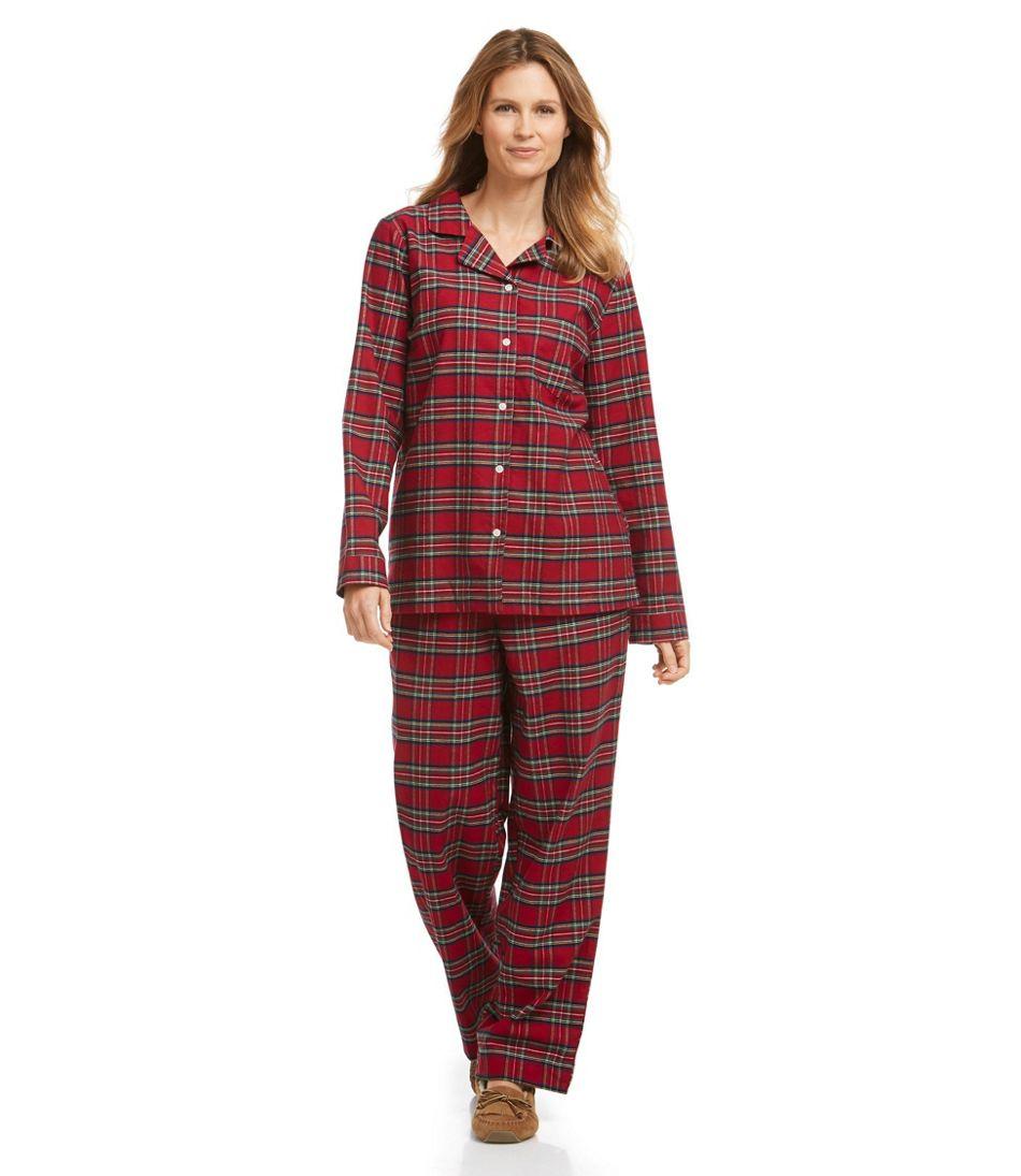 Tartan Flannel Pajama Set