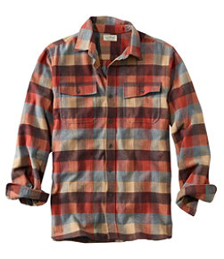 Men's Chamois Shirt, Traditional Fit, Plaid
