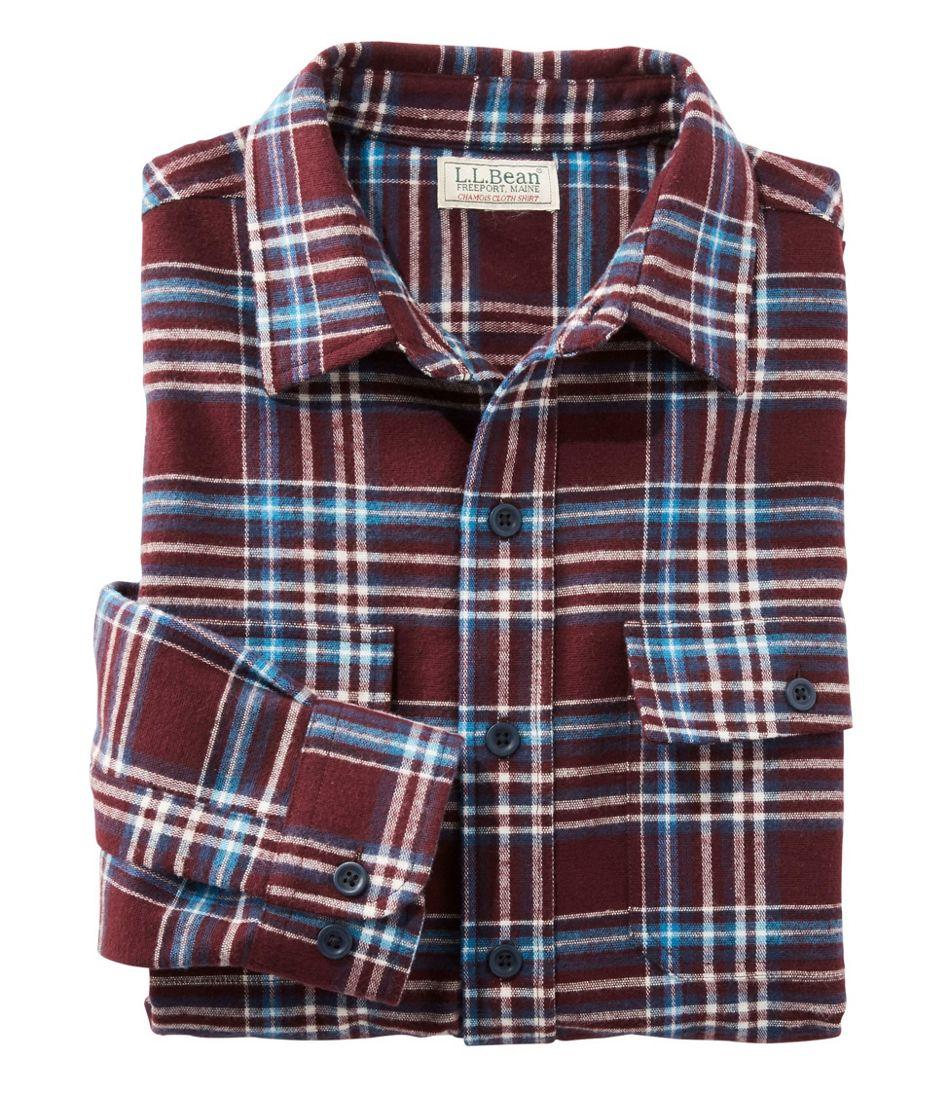 4bfb599f Men's Chamois Shirt, Plaid