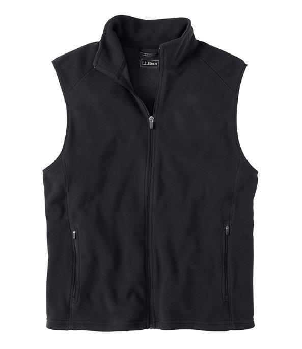 Fitness Fleece Vest, Ink Black, large image number 0