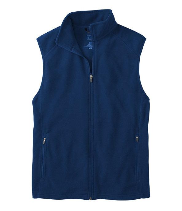Fitness Fleece Vest, Collegiate Blue, large image number 0