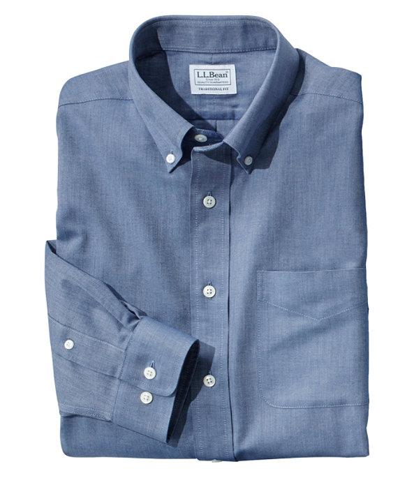 Everyday Dress Shirt, Deep Blue, large image number 0