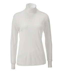 Women's Silk Underwear, Turtleneck