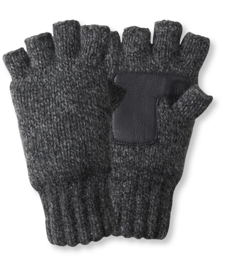 Ragg Wool Fingerless Gloves