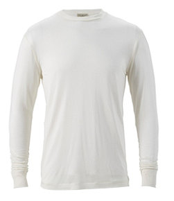 Men's Silk Underwear, Crewneck