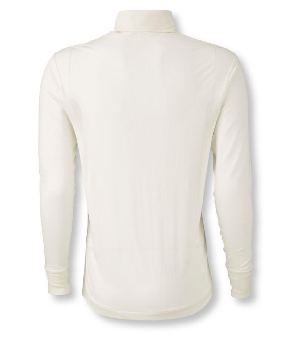 Men's Silk Underwear, Turtleneck