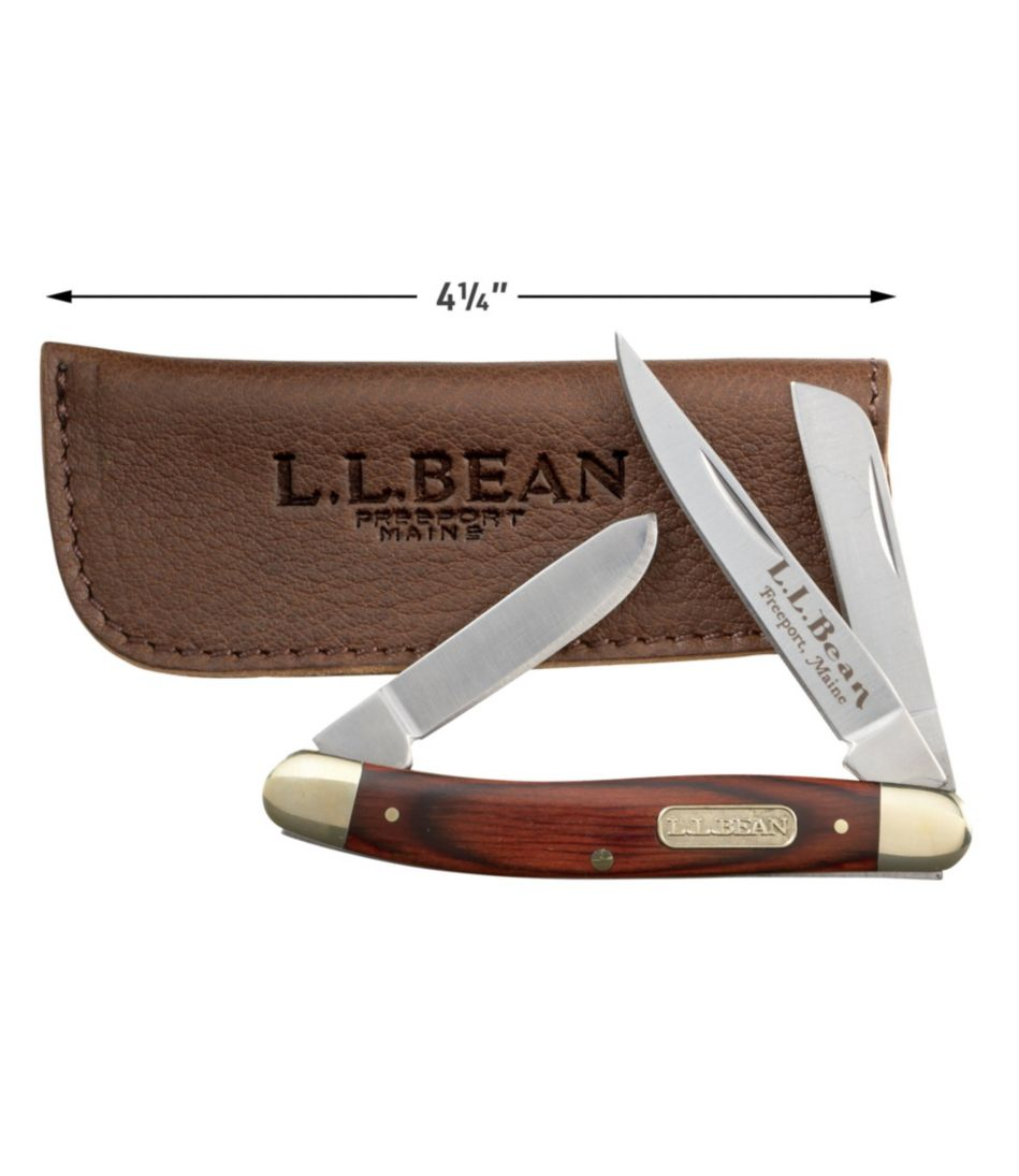 Double L® Pocket Knife, Three Blade