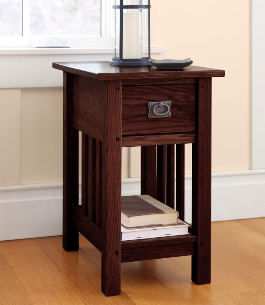 Ordinaire Mission Side Table