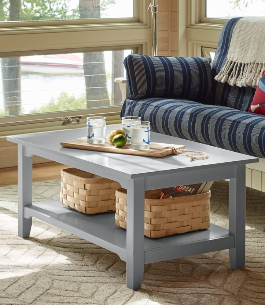 painted cottage coffee table rh llbean com