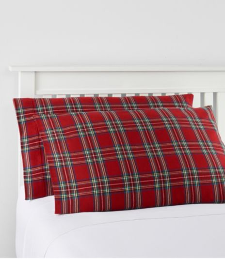 Heritage Chamois Flannel Sheet Collection, Plaid
