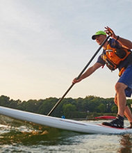 Stand Up Paddle Boarding Enhanced Strokes and Maneuvers