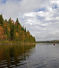 Fall-Foliage Kayak Tour