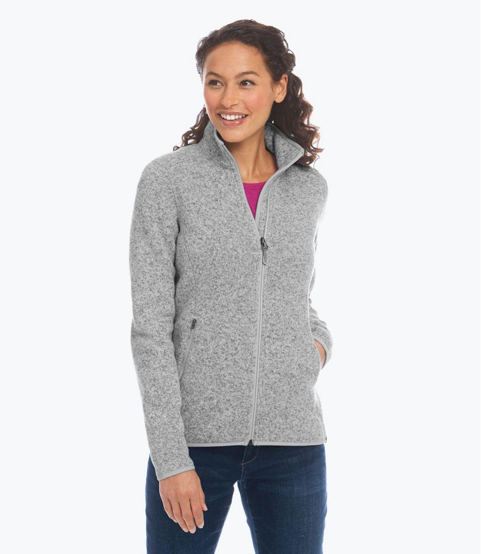 Women S L Bean Sweater Fleece Jacket