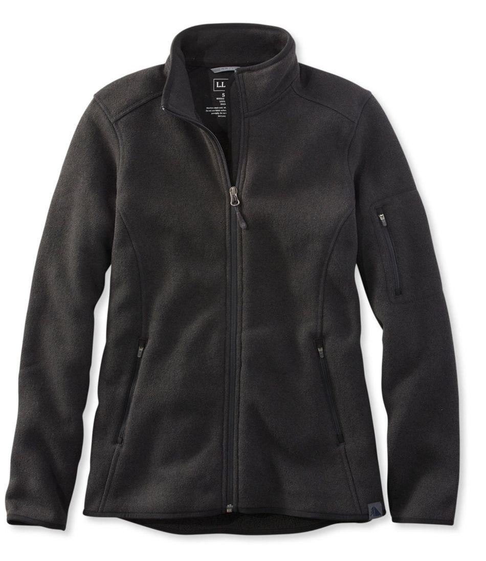 Llbean Sweater Fleece Jacket
