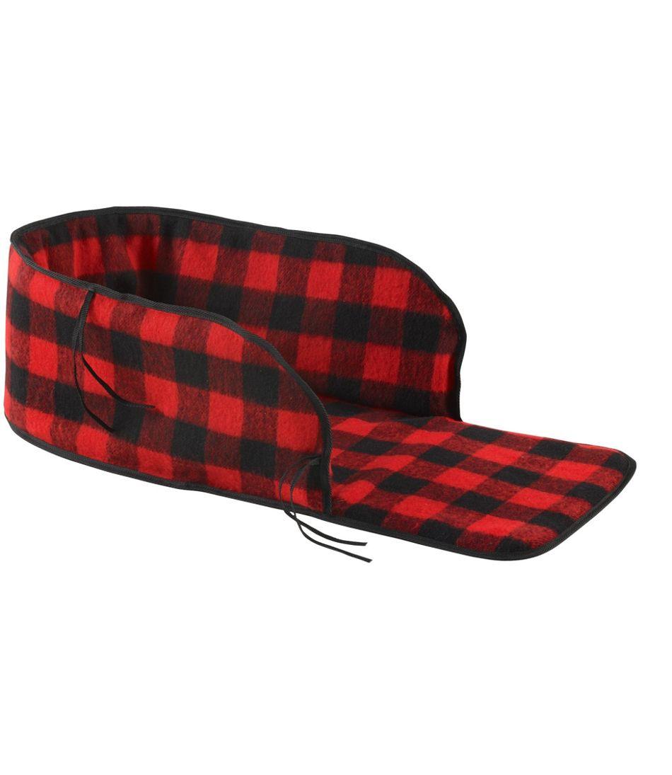Pull Sled Buffalo Plaid Cushion Cover
