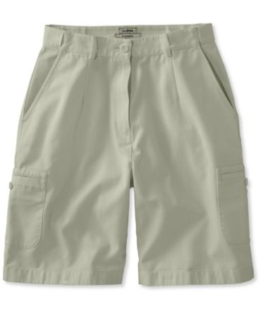 Wrinkle-Free Bayside Cargo Shorts, Original Fit Hidden Comfort Waist 9""