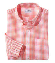 Wrinkle-Free Vacationland Sport Shirt, Traditional Fit Gingham