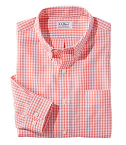 Men's Wrinkle-Free Vacationland Sport Shirt, Traditional Fit Gingham
