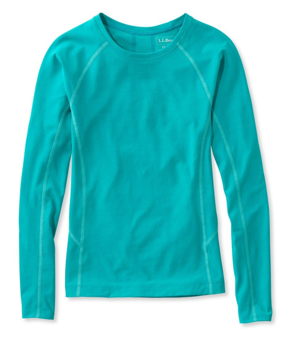 L.L.Bean Active Swim Collection, Rash Guard Long-Sleeve