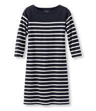 Women's Mariner Dress, Stripe