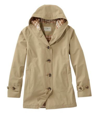 L.L.Bean Easy-Care Mackintosh Coat