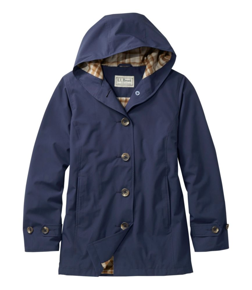L.L.Bean Bean's Easy-Care Mackintosh Coat