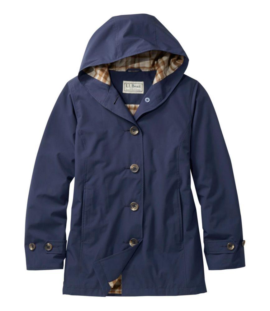 L.L.Bean Bean's Easy-Care Mackintosh Coat