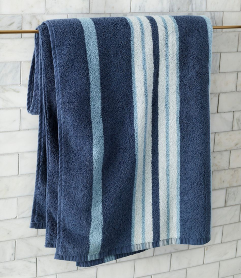 Premium Cotton Towel Set, Stripe