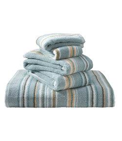 Premium Cotton Towel Set, Stripe