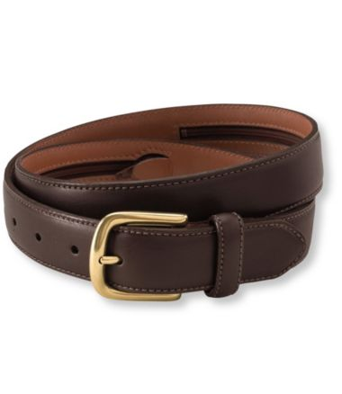 Men's Chino Belt with Money Zip