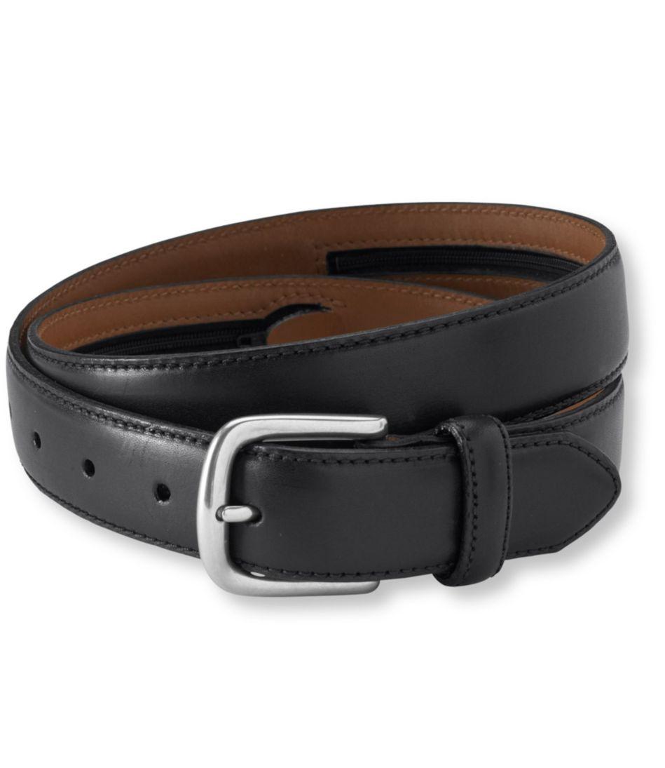 Men's Chino Belt with Money Zip