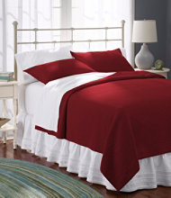 Honeycomb Matelassé Coverlet