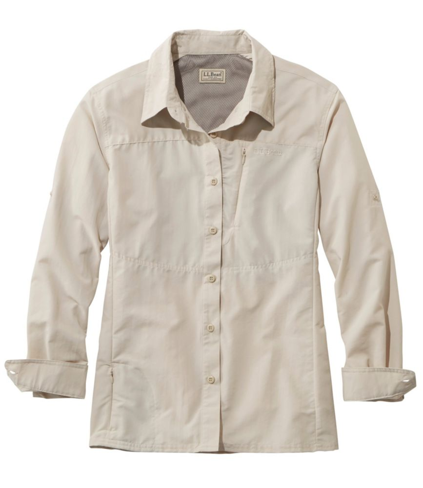 photo: L.L.Bean Women's No Fly Zone Shirt hiking shirt