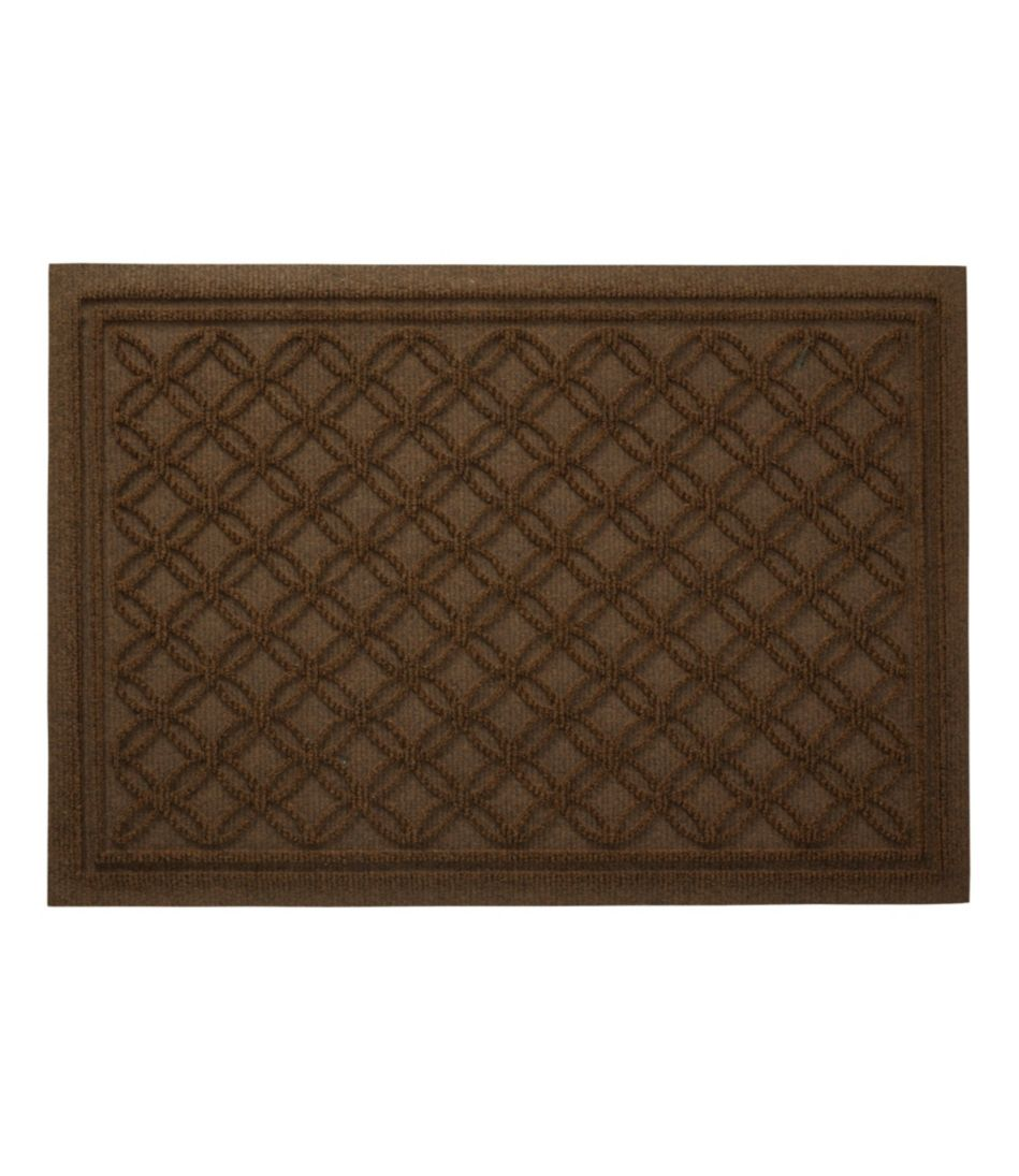 Waterhog Doormat, Recycled Locked Circles