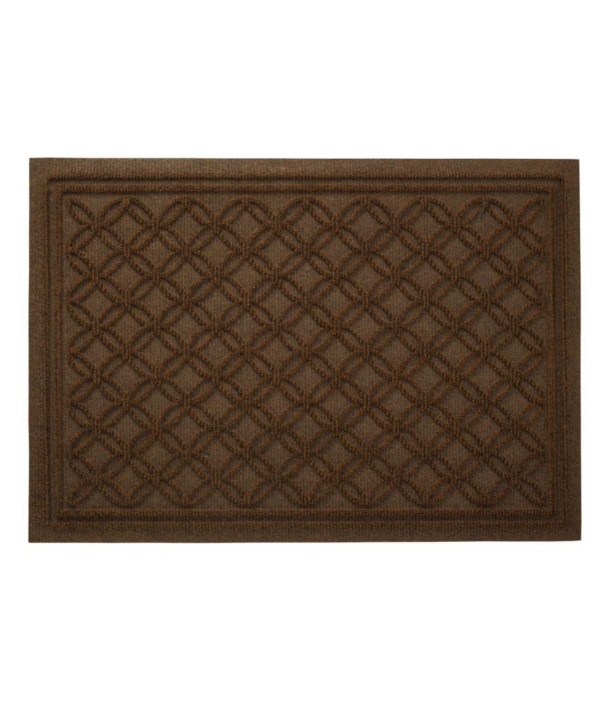 Waterhog Doormat, Recycled Locked Circles