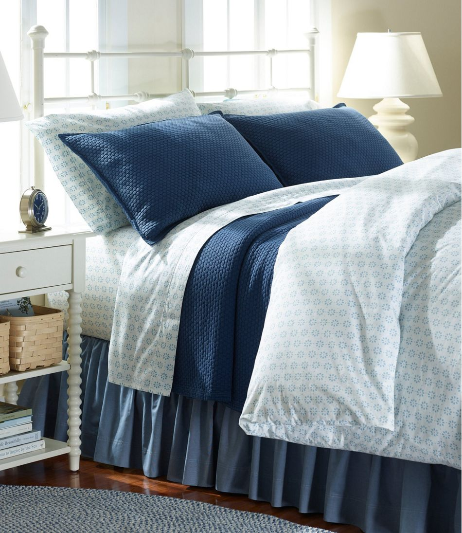 Sunwashed Percale Comforter Cover, Print