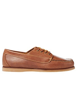 Signature Handsewn Jackman Blucher Mocs, Leather