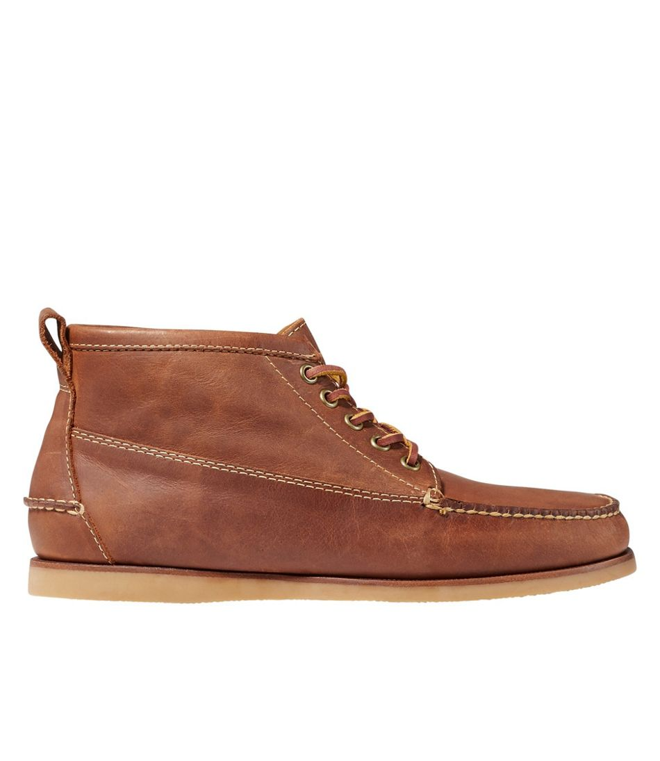 Men's Signature Handsewn Jackman Ranger Mocs, Leather