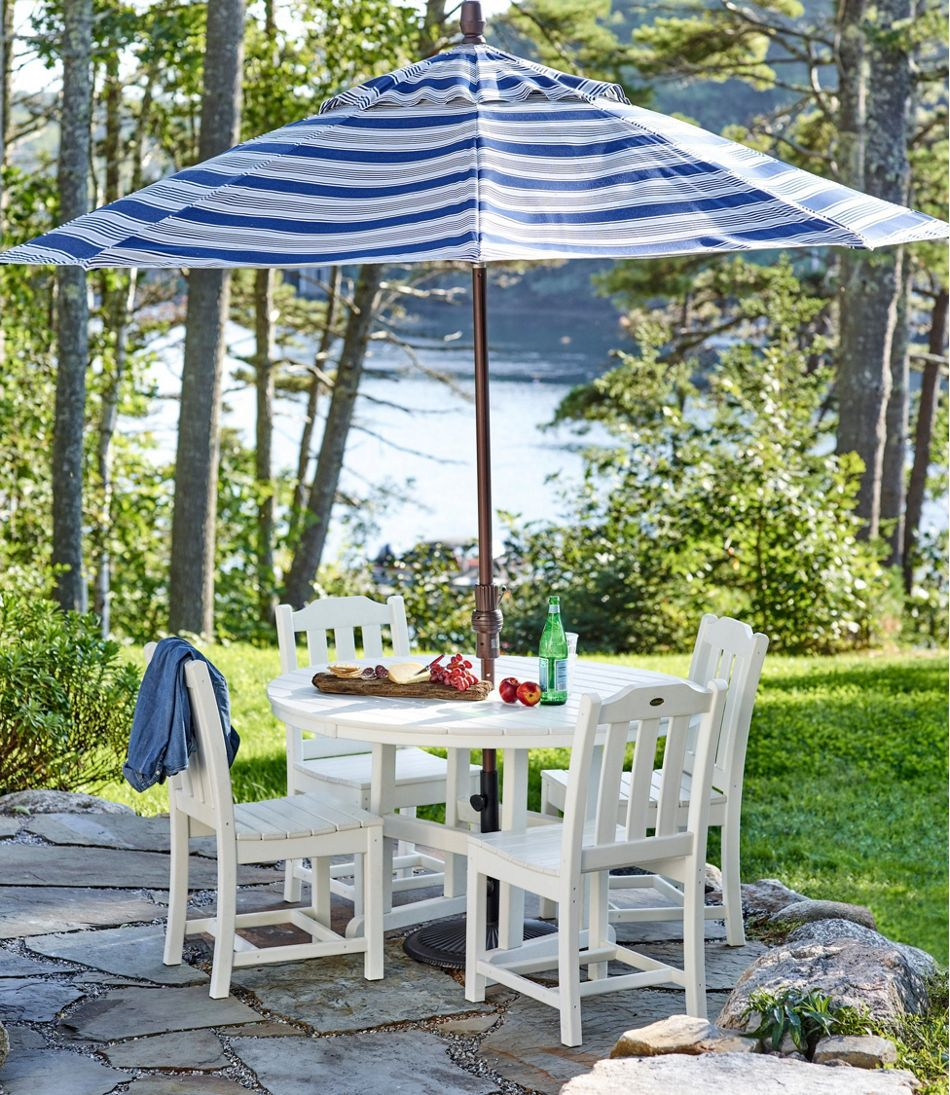 """All-Weather Dining Table, Round 48"""""""
