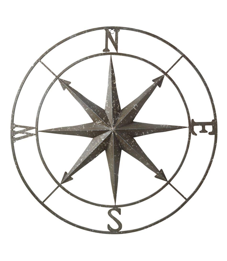 Metal Compass Rose