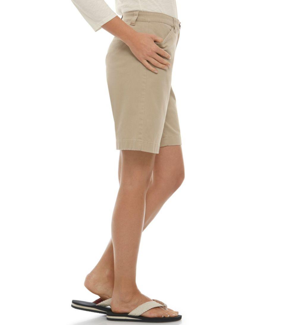 Easy-Stretch Shorts, Twill