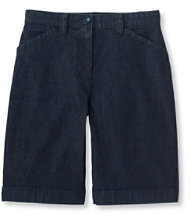 Easy-Stretch Shorts, Denim