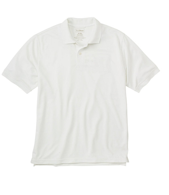 Lightweight Sport Polo, White, large image number 0