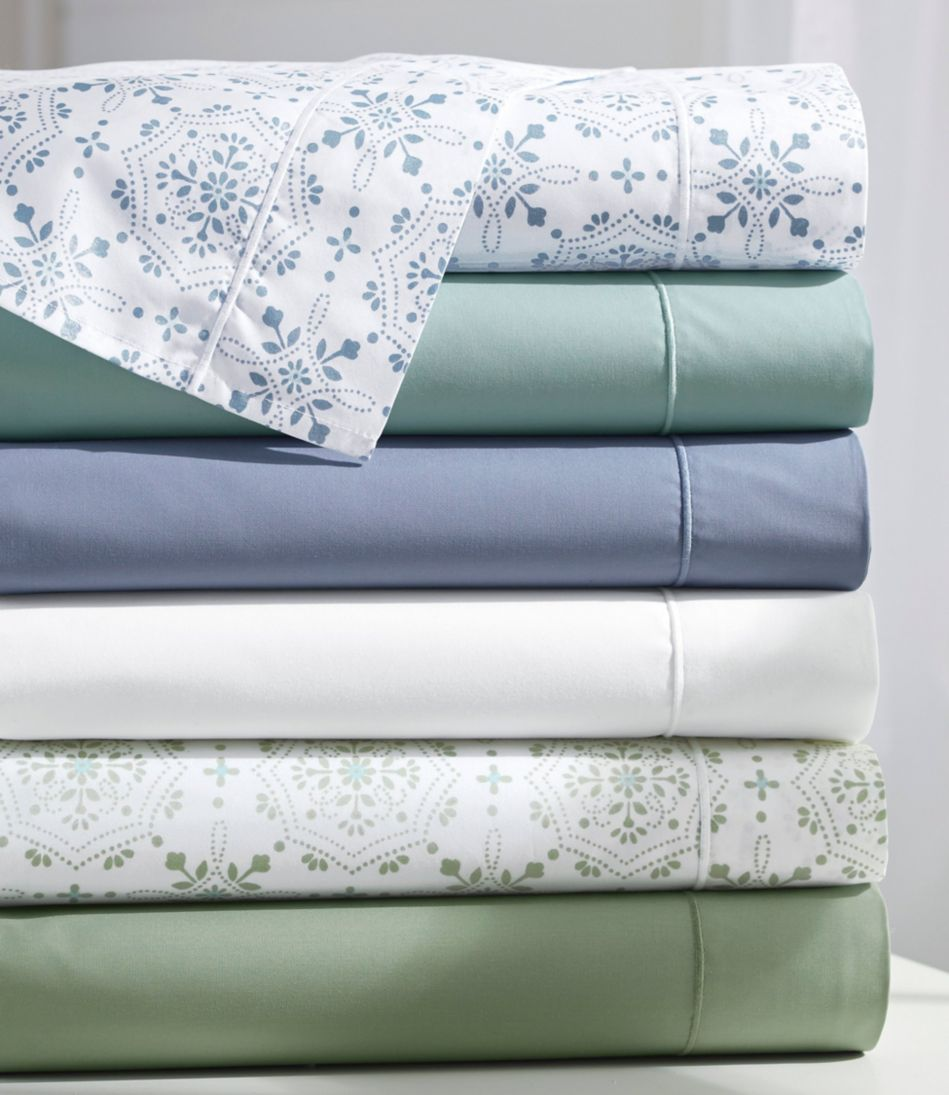 Premium Egyptian Percale Sheet Flat