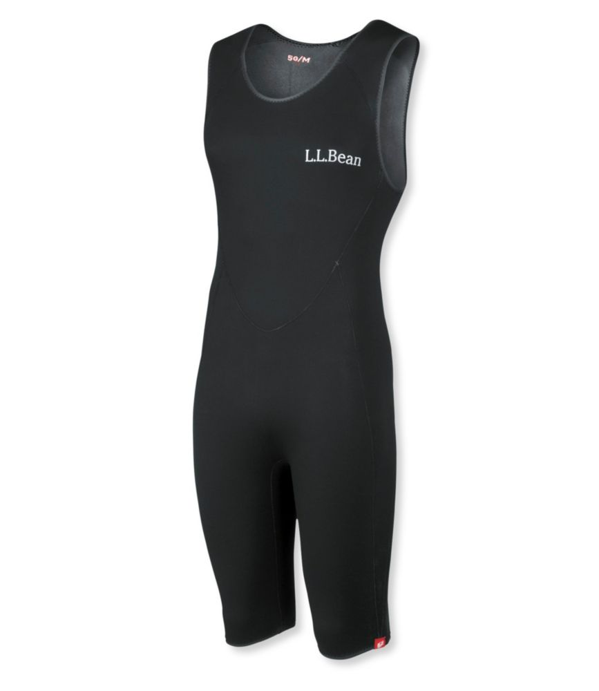 photo: L.L.Bean Men's Superstretch Titanium Sleeveless Shorty Wet Suit wet suit