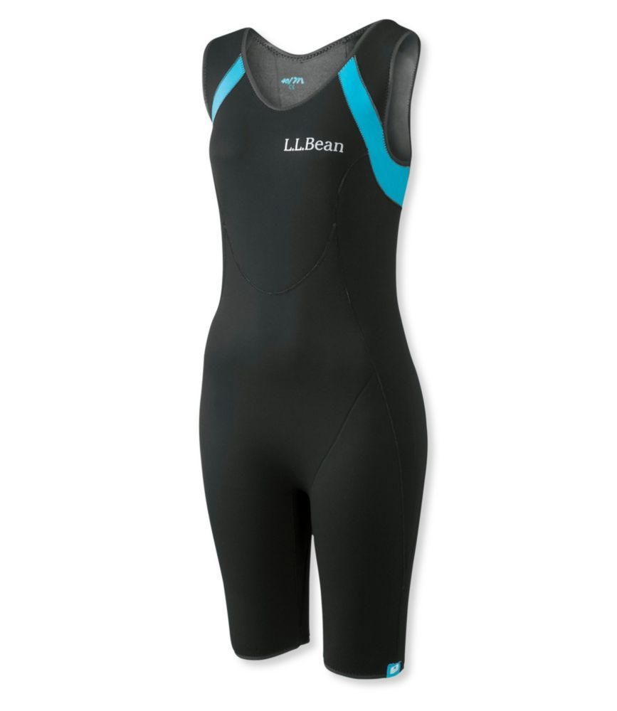 photo: L.L.Bean Women's Superstretch Titanium Sleeveless Shorty Wet Suit