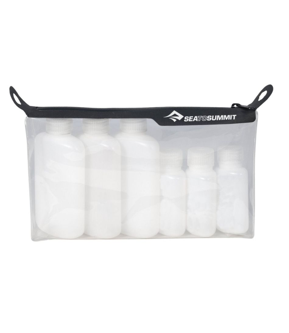 Sea to Summit Travelling Light TPU Clear Zip-Top Pouch