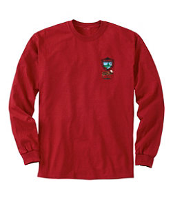Men's MIF&W Tee, Long-Sleeve Moose