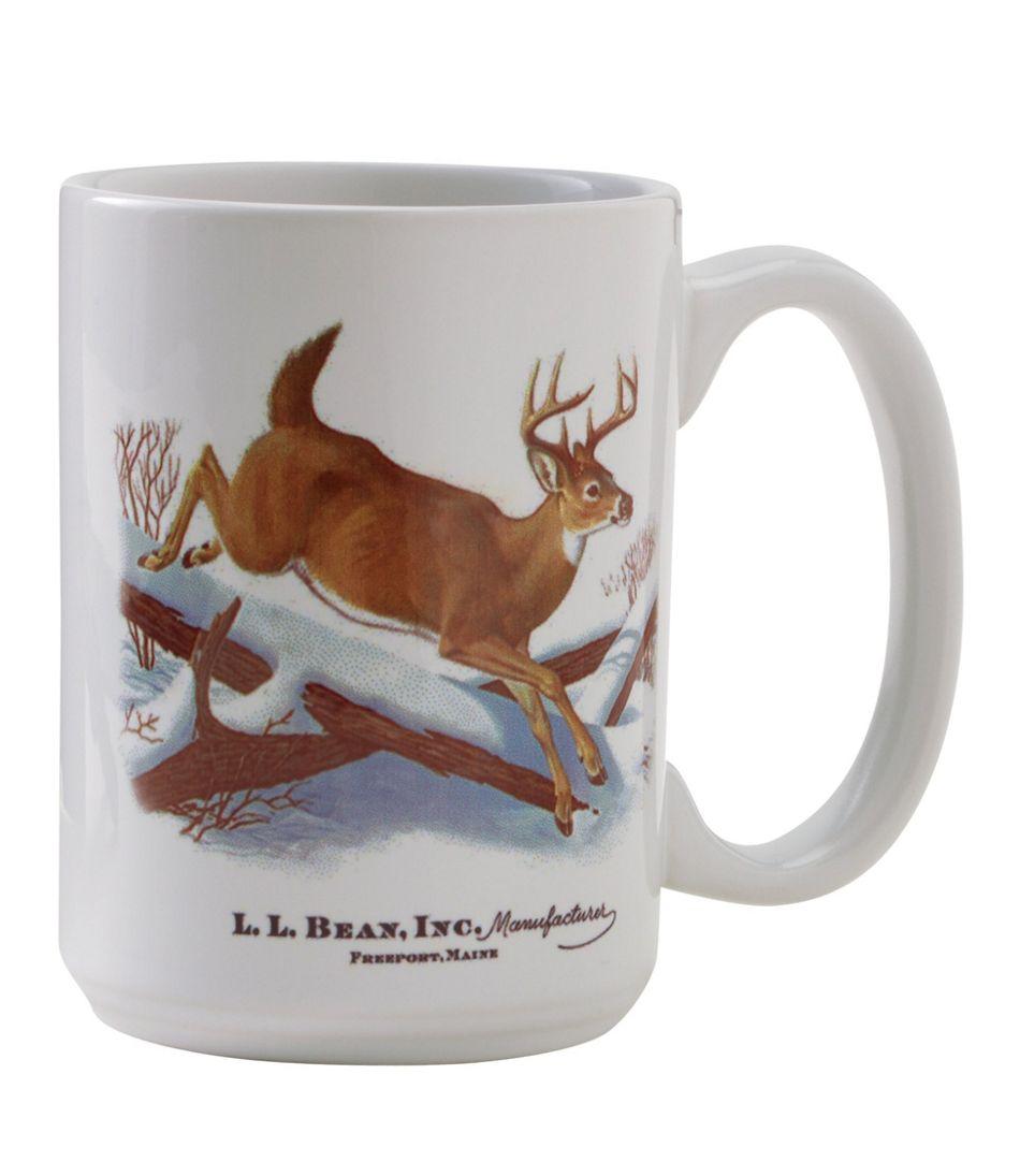 MIF&W Ceramic Mug, White-Tailed Deer